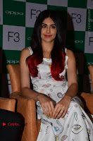 Bollywood Actress Adah Sharma Pos in White Printed Short Dress at OPPO F3 Plus Selfie Expert Mobile Launch .COM 0045.jpg