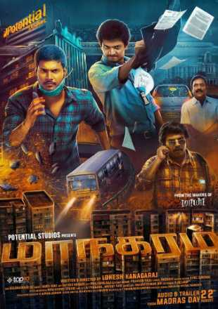 Maanagaram 2017 Full Hindi Dubbed Movie 720p HDRip