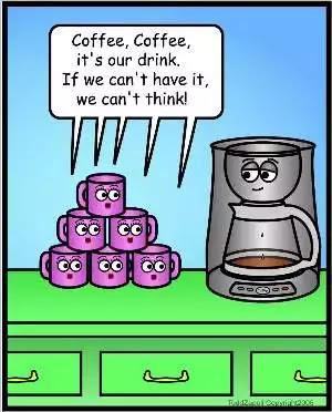 Choice Morsels: Bananas Thursday: Coffee Humor!