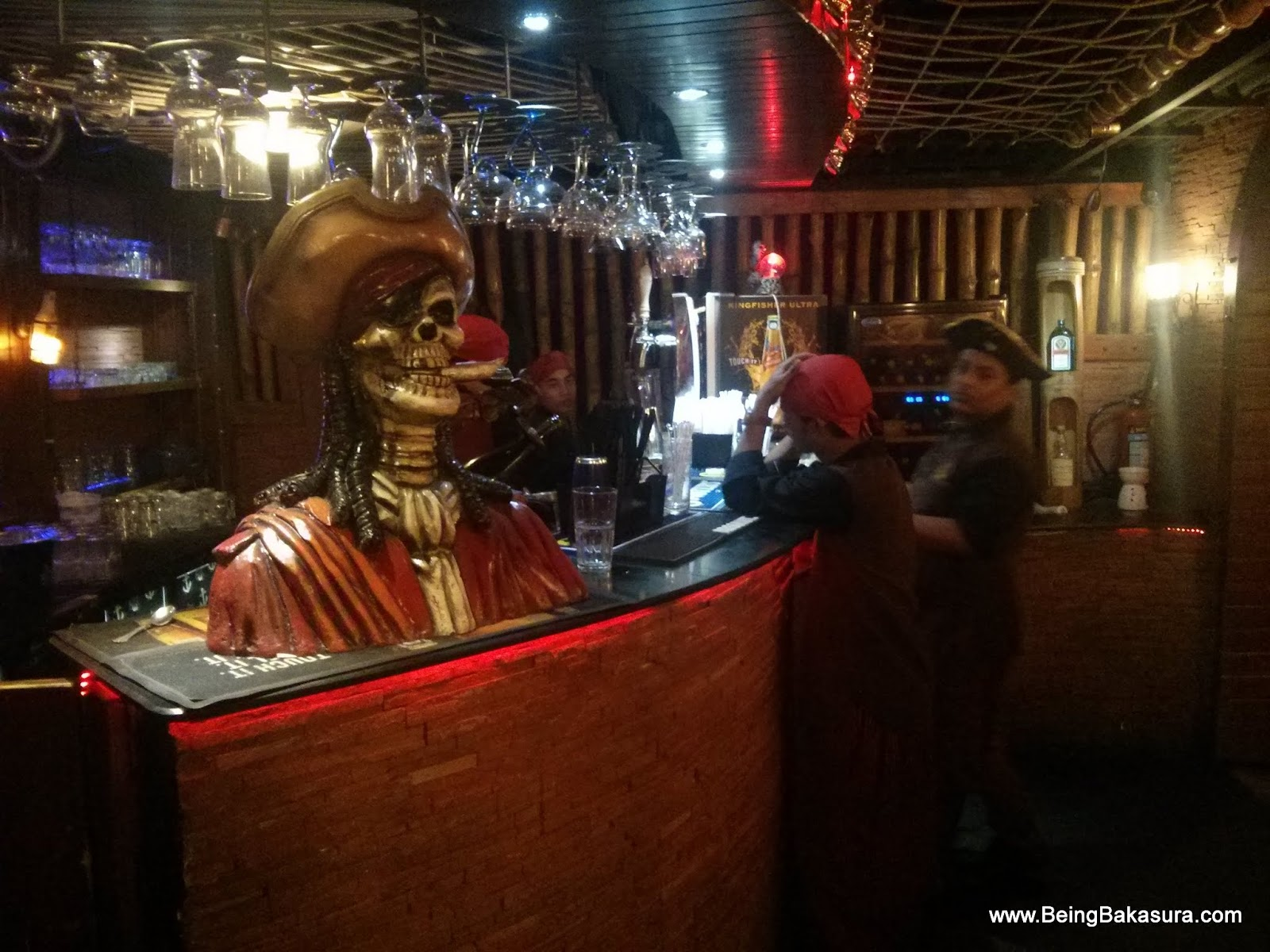 Being Bakasura: Dock yourself for a Pirate themed dining