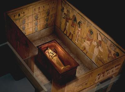Radar scans confirm hidden rooms in Tutankhamun's tomb