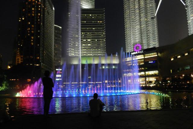 Fontanna w Malezji