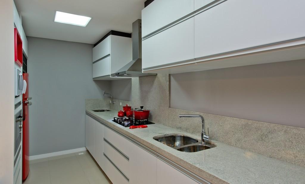 Preferência Cozinhas com bancadas de granito branco! - DecorSalteado CO57