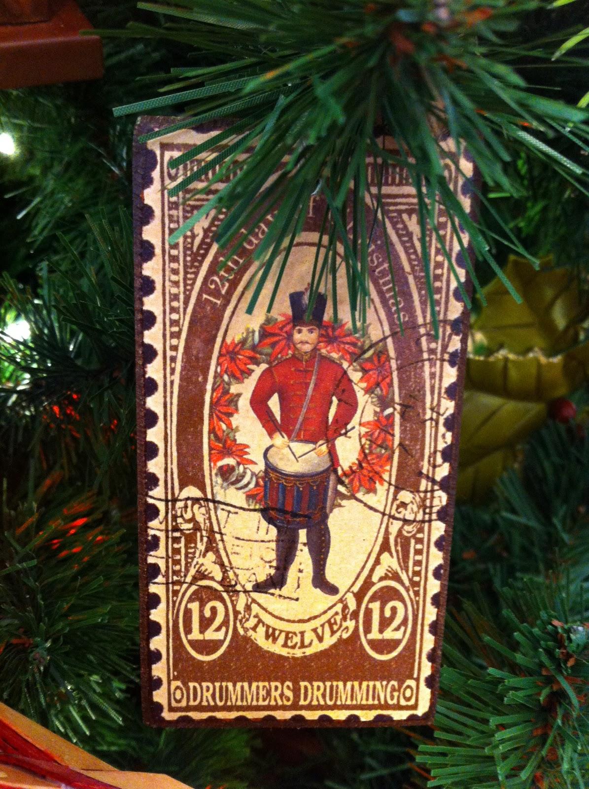 Sasaki Time Awesome 12 Days Of Christmas Ornaments