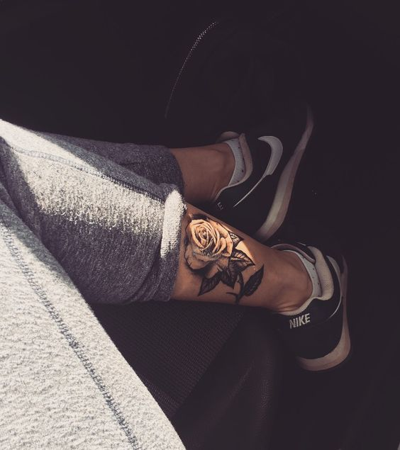 Best 25+ Calf Tattoos Ideas For Women and Men