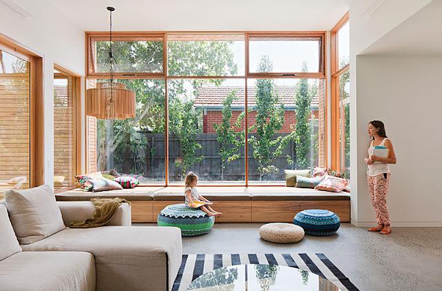 Blog Achados de Decoração. Casa espaçosa decorada para o conforto: um oásis na cidade grande
