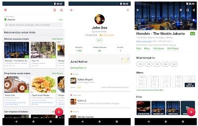 aplikasi pencari tempat makan android