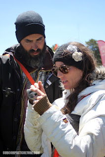 A couple in a class at Overland Expo West 2016