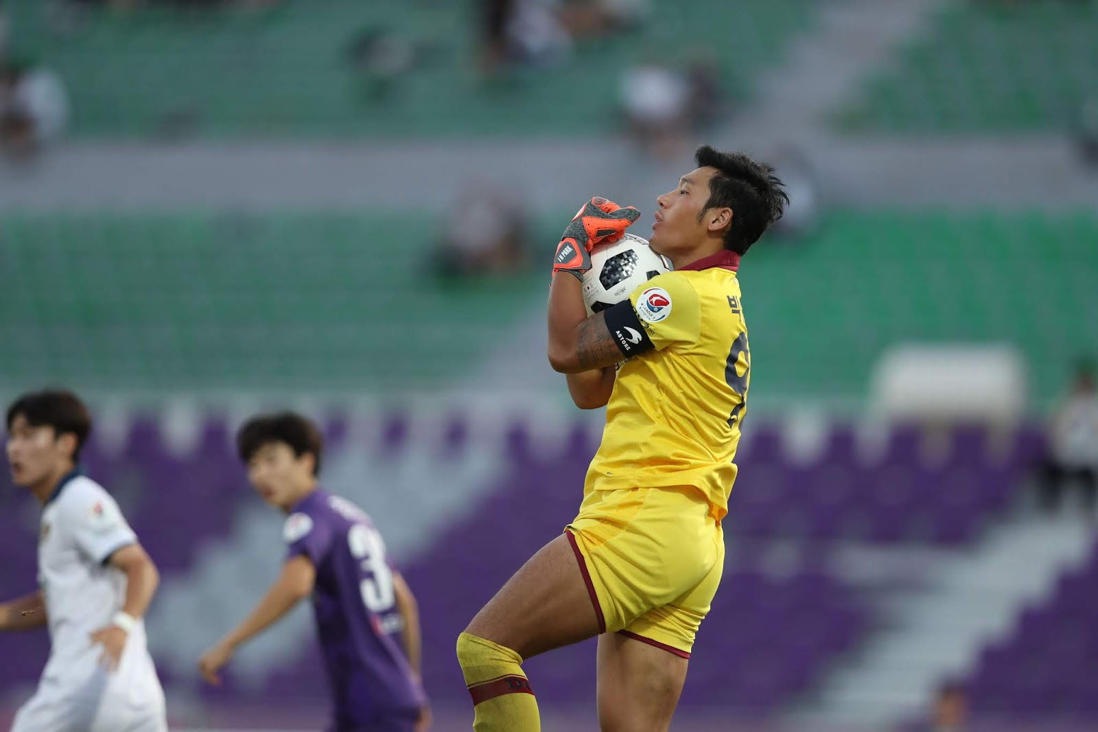 Daejeon Citizen goalkeeper Park Junhyeok