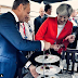 EU Council President Mocks Theresa May with Cake Gag
