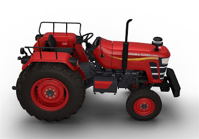 Mahindra YUVO Tractor top view hd image