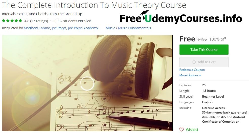 introduction to music theory pdf