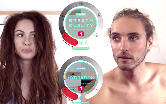 Breathometer Mint - medidor de mau hálito