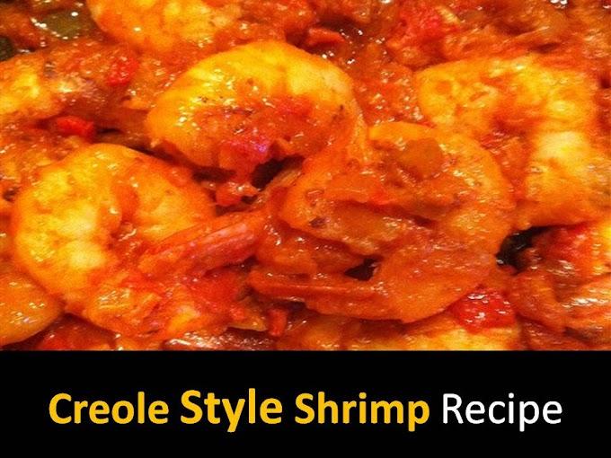 Creole style Shrimp recipe