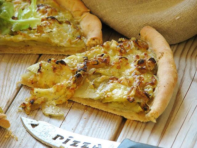 recette de pizza facile et rapide