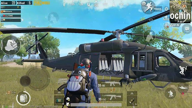 PUBG Mobile: Xuất hiện trực thăng và súng phóng lựu RPG mới