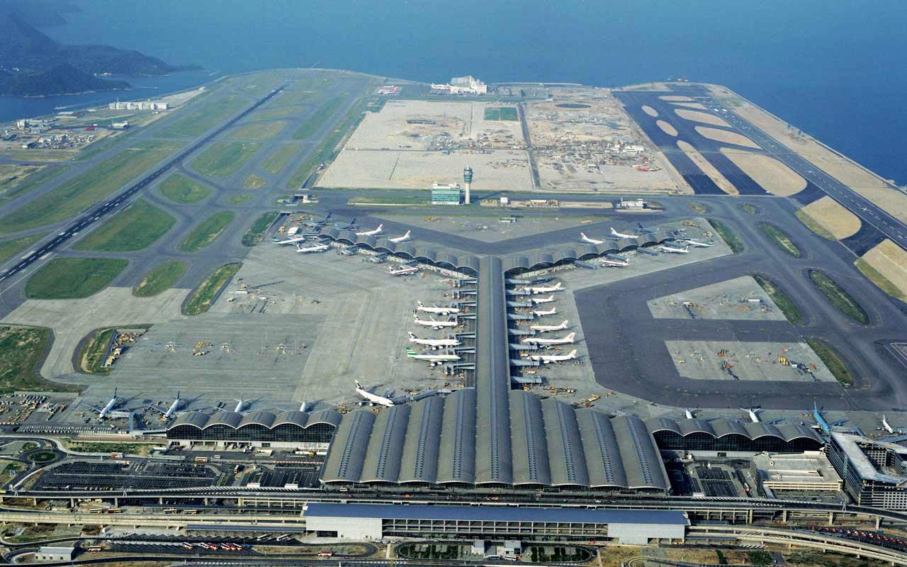 Conhecido Os 10 maiores aeroportos do mundo | Gigantes do Mundo NV14