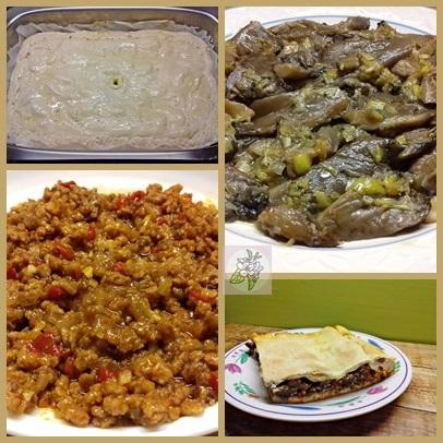 Empanada Vegana de Setas con Puerros y Picadillo de Soja.