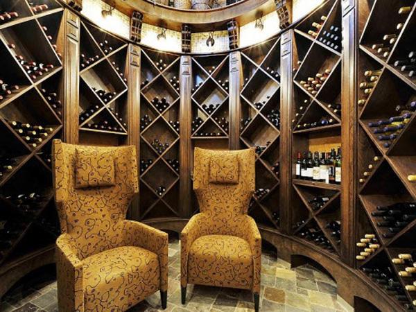 Design classic interior 2012 c mo almacenar los vinos for Estantes para vinos