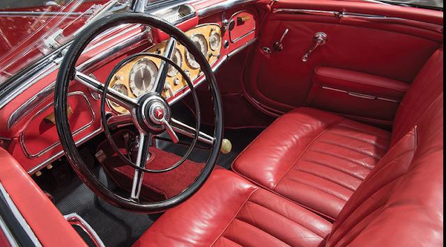 1937 Mercedes-Benz 540 K Special Roadster Interior