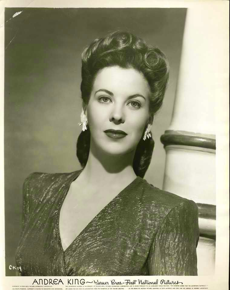 Portrait of American Actress Andrea King