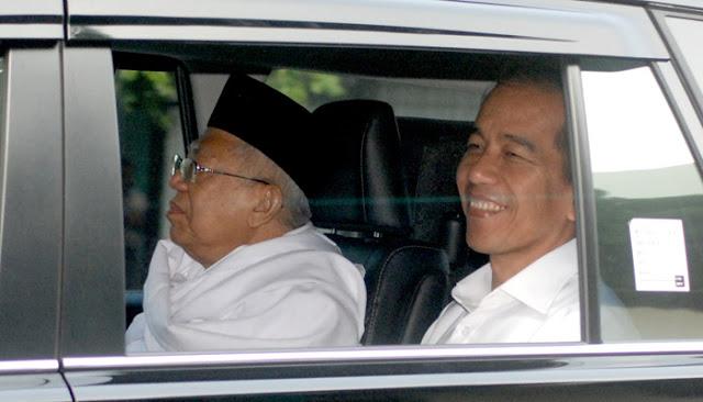 Jokowi-Ma'ruf Akan Didukung JK, Menteri, Dan Kepala Daerah