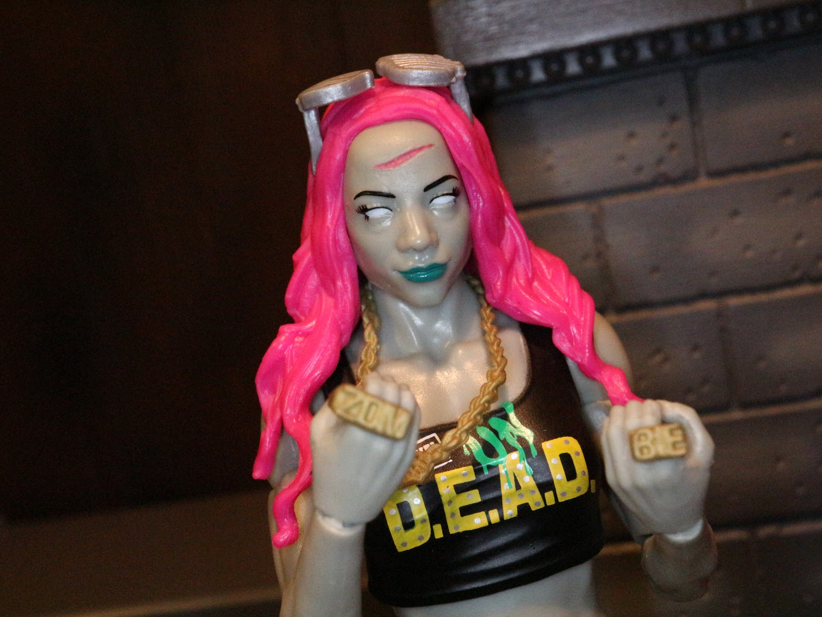 1bad96a42 Action Figure Barbecue: Action Figure Review: Sasha Banks from WWE ...