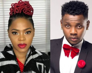 Chidinma and Kiss Daniel