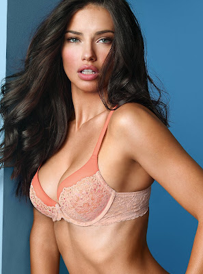 Adriana Lima Victoria's Secret angels lingerie photoshoot