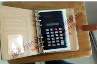 Souvenir Agenda Kalkulator