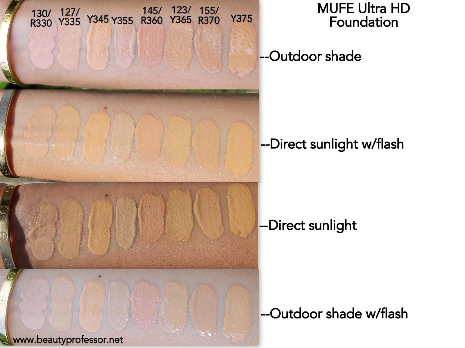 Beauty Professor Mufe Ultra Hd Invisible Cover Foundation
