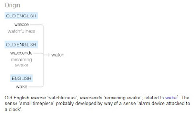 Meaning of WATCH