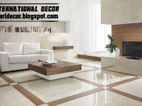 Tiles Color For Living Room