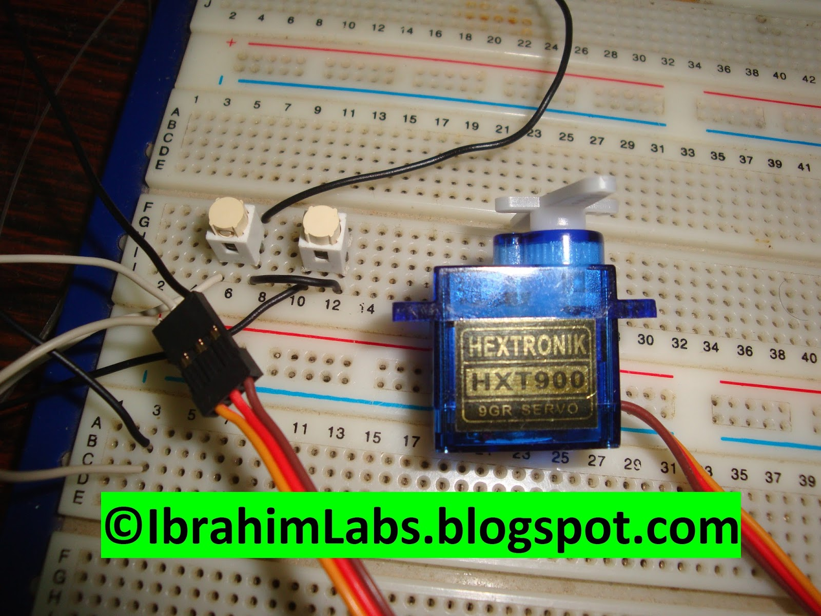 Ibrahimlabs How To Interface Servo Motor With Pic Code Schematic Pulser Tester Testing Servos Pwm