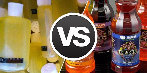 Synthetic Urine vs Marijuana Detox