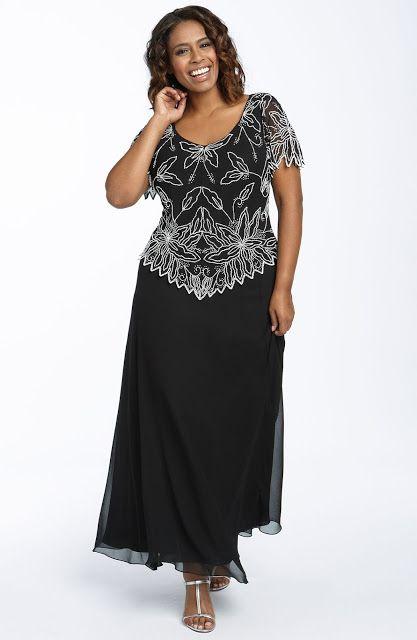 Vestidos Largos Para Señoras Gorditas Ideas De Modelos