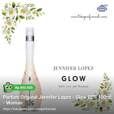 toko parfum asli parfum original jennifer lopez glow edt 100ml woman