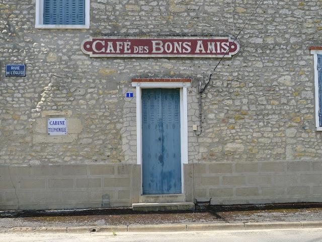 Tour de la Beauce en vélo couché le Café des Bons Amis