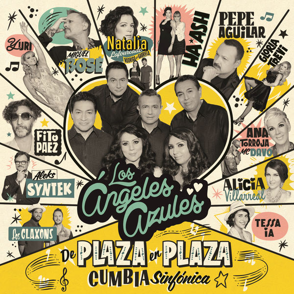 Los Ángeles Azules – De Plaza en Plaza (Cumbia Sinfonica) 2016