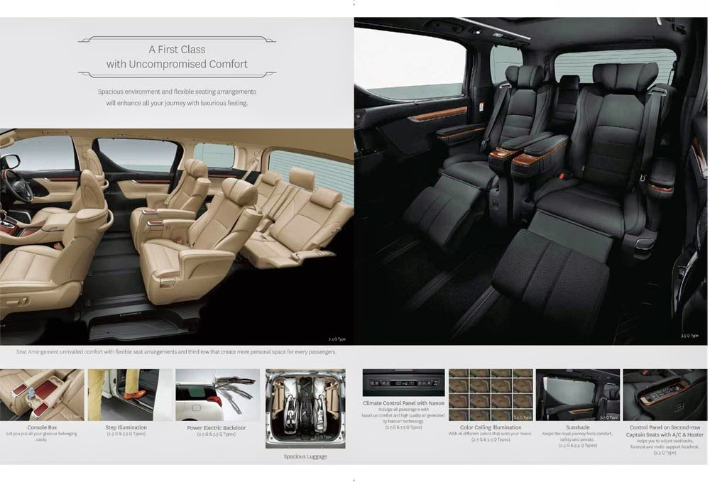 cabin new alphard
