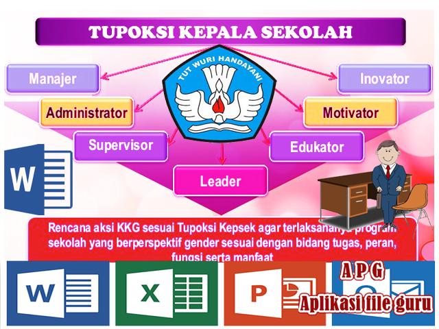 Download Tupoksi ( Tugas Pokok dan Fungsi ) Kepala Sekolah Terbaru