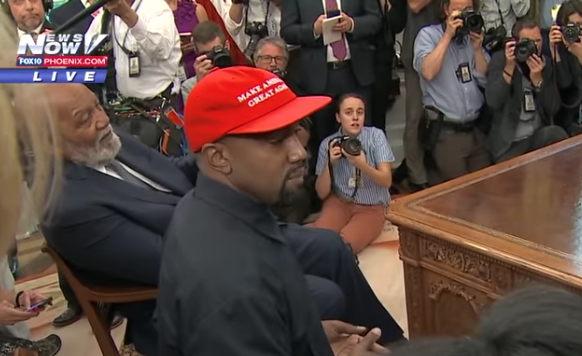 Kanye West Pulling Back The Curtain On Race Relations
