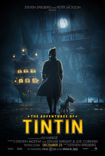 The Adventures of Tintin 2011 Dual
