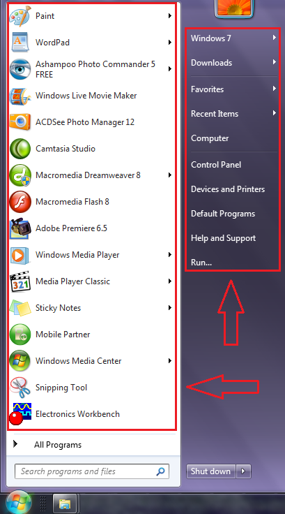 Cara Mengubah Ukuran Icon Menu Start Windows 7
