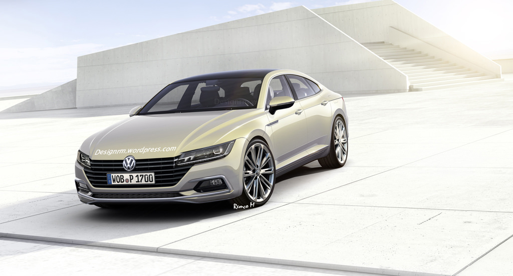 another 2017 volkswagen cc modeled after sport coupe concept carscoops. Black Bedroom Furniture Sets. Home Design Ideas