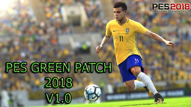 Patch PES 2018 Terbaru dari PES Green Patch V1