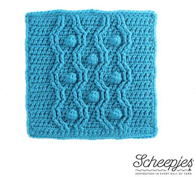 Scheepjes CAL 2016 week 3 Last Dance on the Beach Crochet pattern