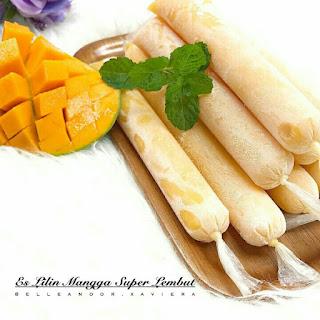 Ide Resep Membuat Es Lilin Mangga Super Lembut