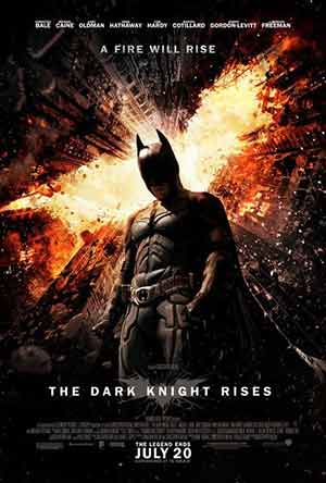 The Dark Knight Rises 2012 Hindi 300MB Movie BlURay 480p