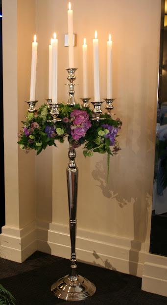Flower Design Wedding Ceremony Styling Floor Standing